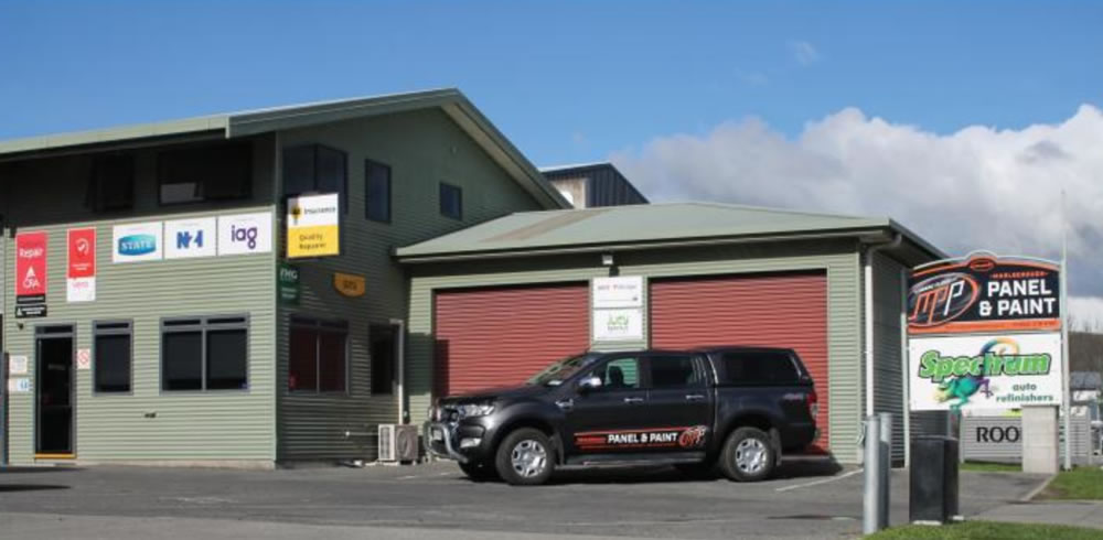 Company Office At Marlborough Panel And Paint In Blenheim NZ